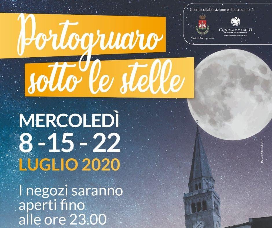 Portogruaro sotto le stelle: il rilancio estivo della città del Lemene