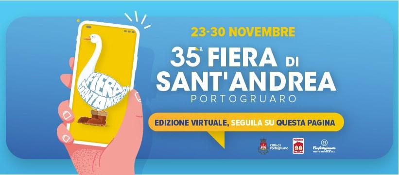 La Fiera Sant'Andrea di Portogruaro è online!