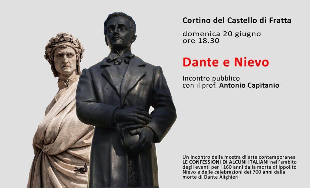 """Al Cortino del Castello di Fratta il finissage della mostra """"Le Confessioni di Alcuni Italiani"""""""