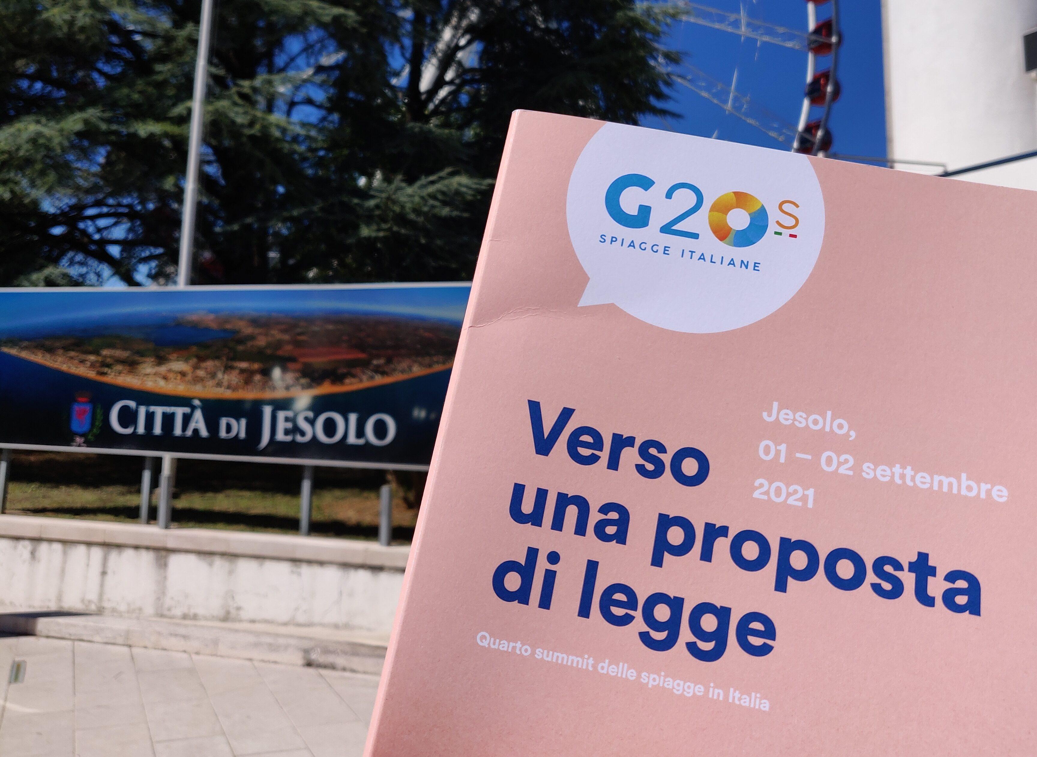 Verso una proposta di legge: il G20 delle spiagge italiane a Jesolo